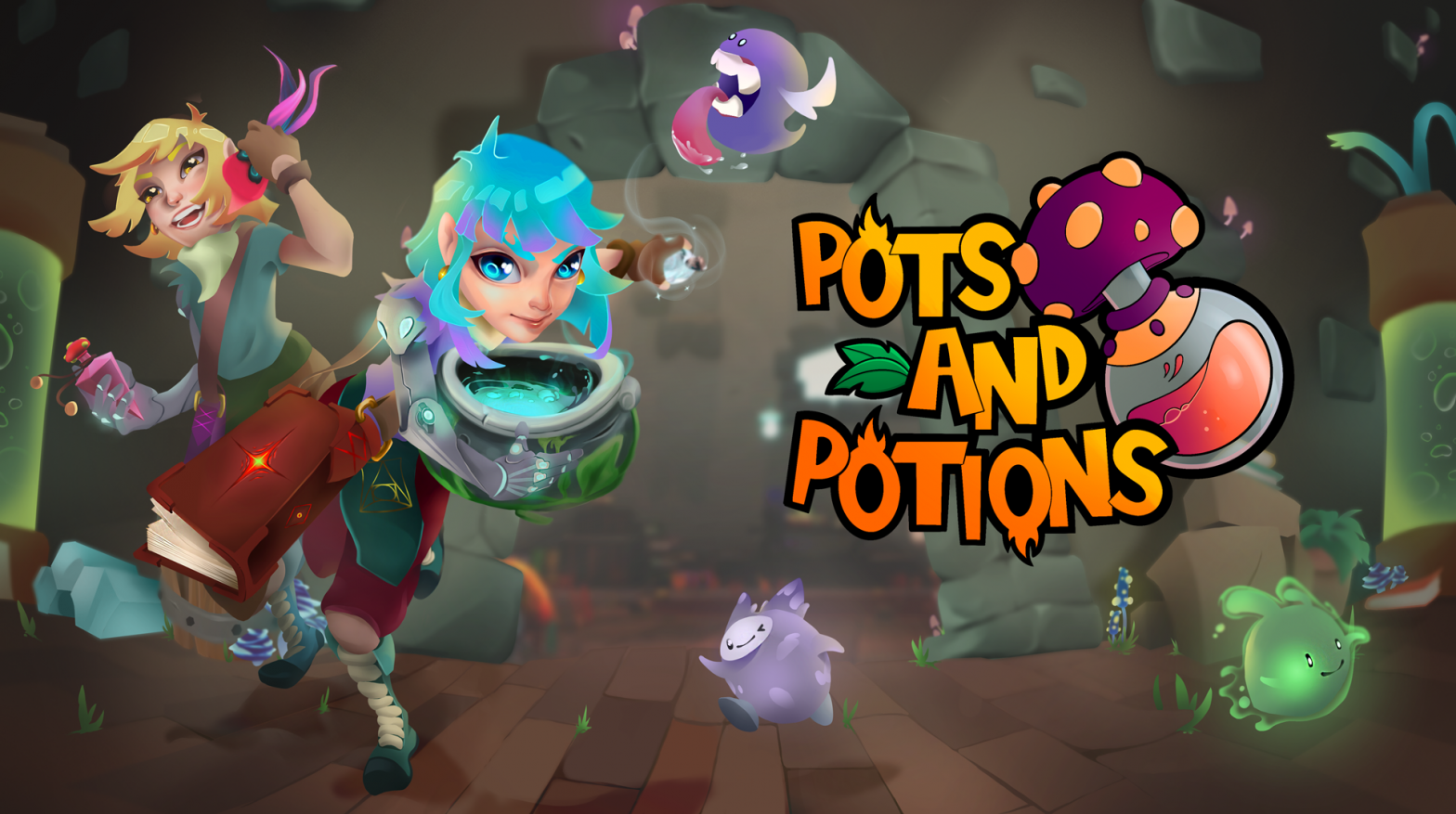 Video game Pots and Potions art